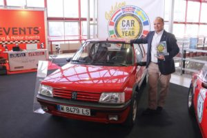 Peugeot 205 Golden Car Of The Year