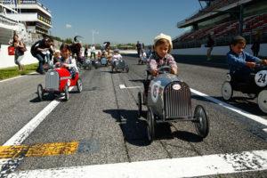 Los más pequeños han abierto el nostálgico Espíritu de Montjuic (Foto: Circuit de Barcelona-Catalunya)