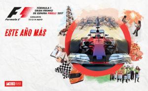 Cartel del Campeonato de F1
