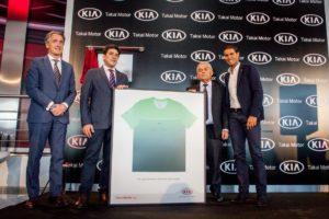 Rafa Nadal inauguró el concesionario más grande de Kia en Europa