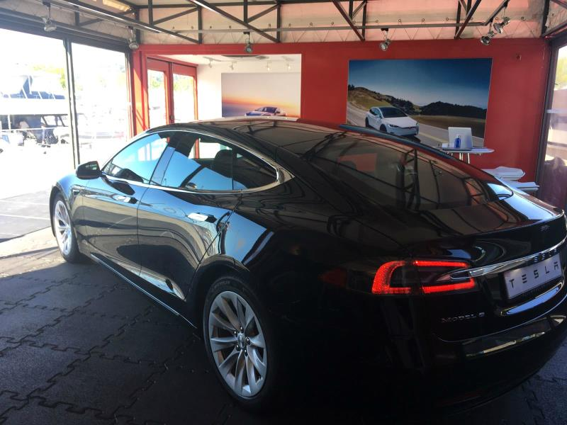 pop-up Store de Tesla en Barcelona (Foto: Tesla)
