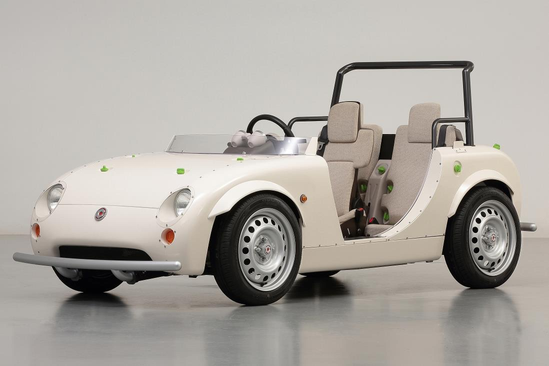 El prototipo de la autoescuela infantil de Toyota