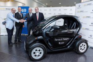 El Renault entregado a la Universidad de Deusto