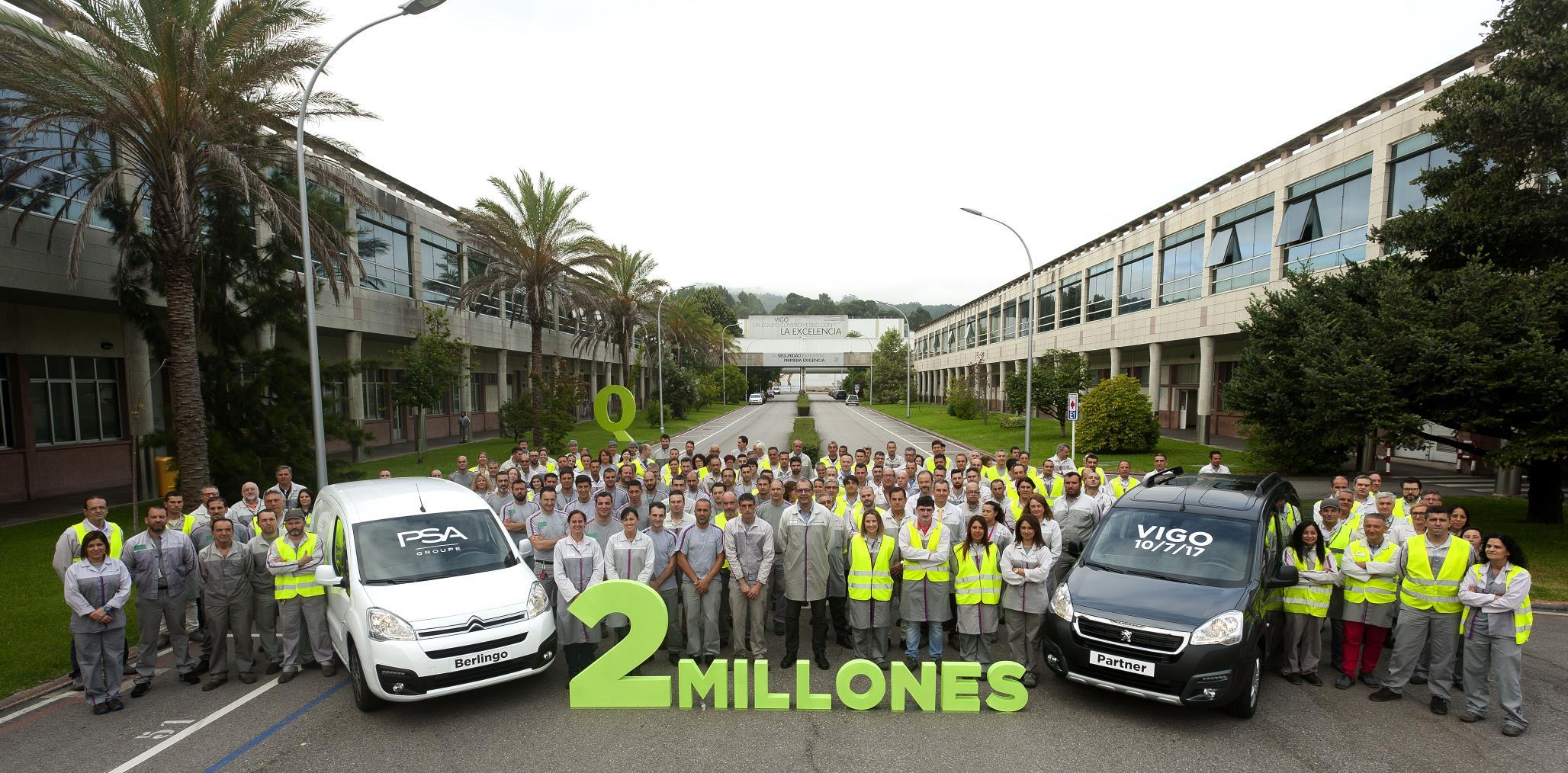 Dos millones de unidades en el centro de Vigo