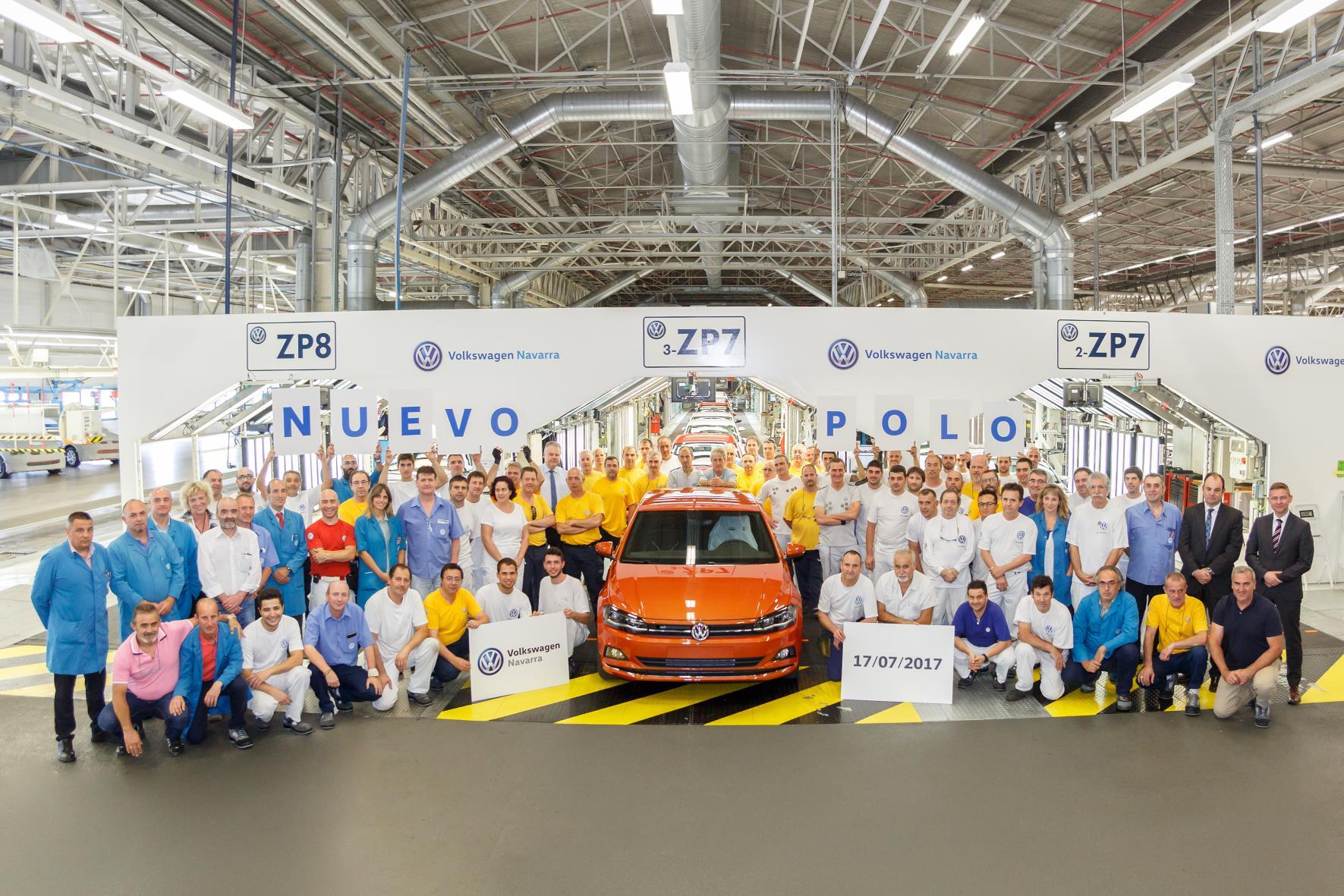 Foto de família de Volkswagen Navarra (Foto: Volkswagen)