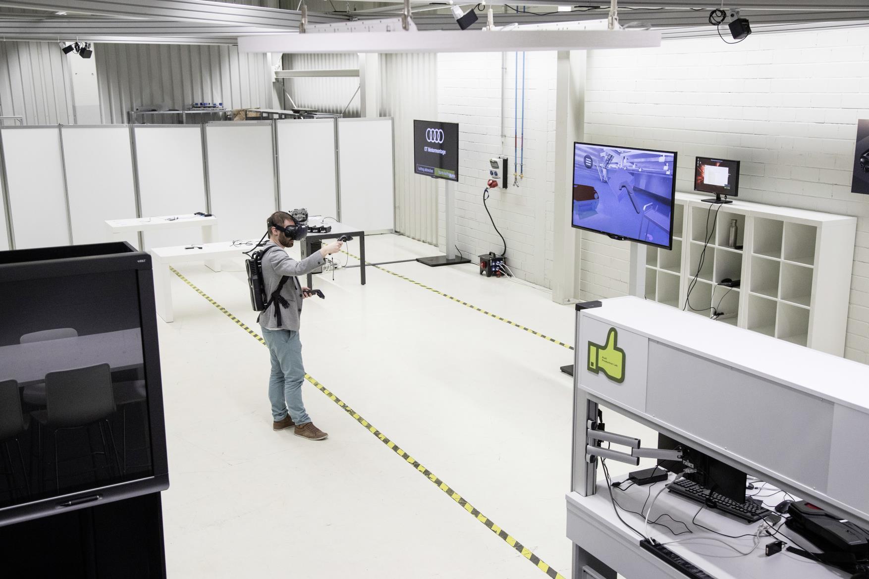 Audi utiliza la realidad virutal para formar a sus empleados