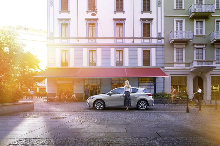 Una de las primicias de Lexus (Foto: Lexus)