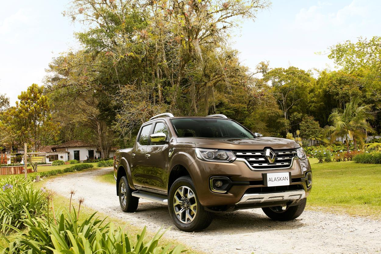 El pick-up Alaskan (Foto: Renault)