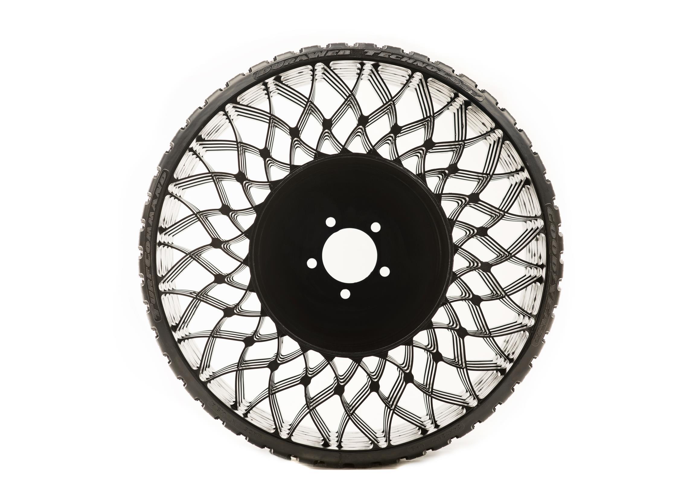 El neumático para cortacésped de Goodyear