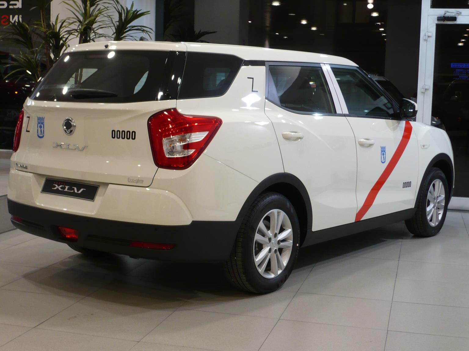 Taxi Ssangyong