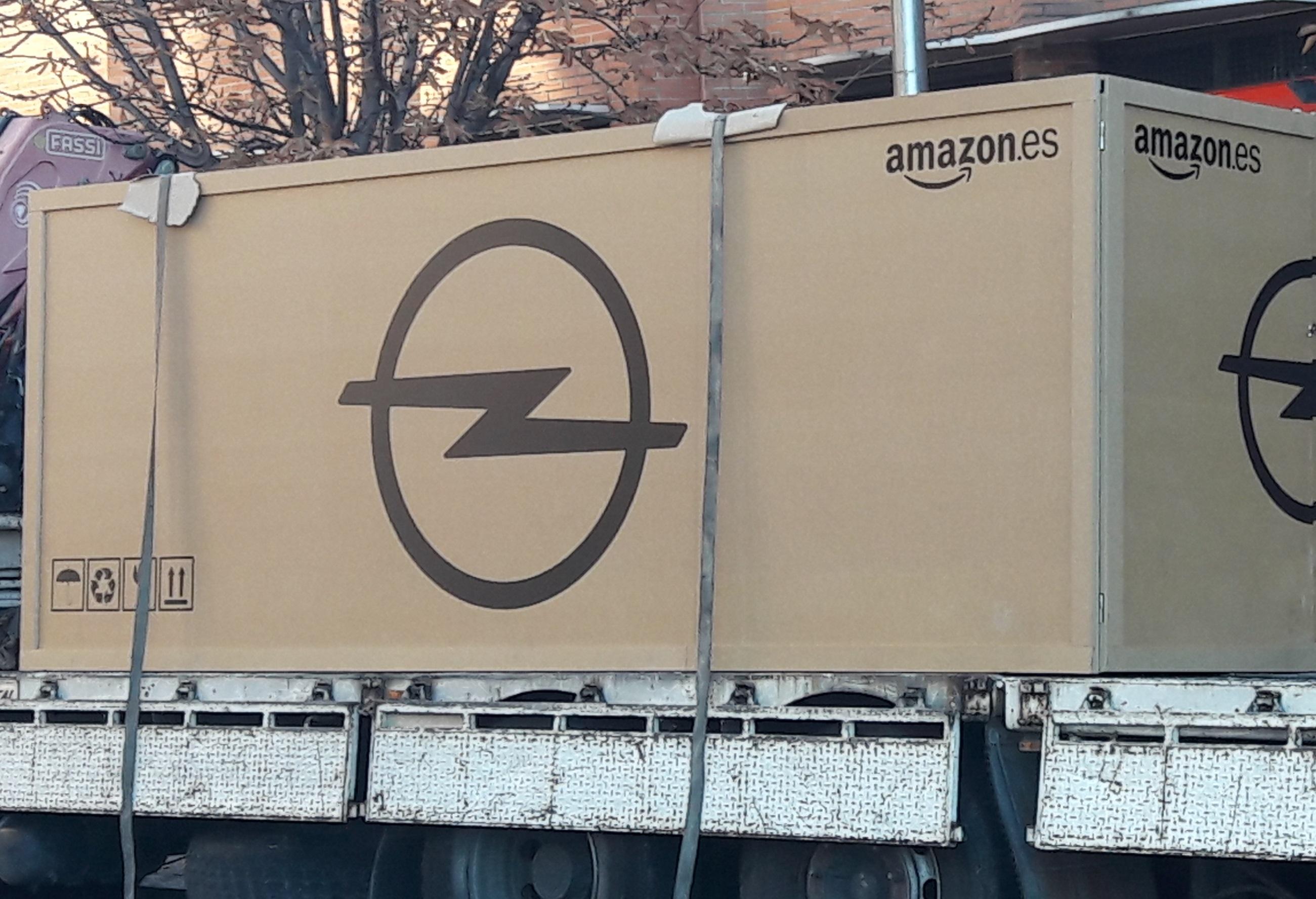 Entrega del coche a través de Amazon