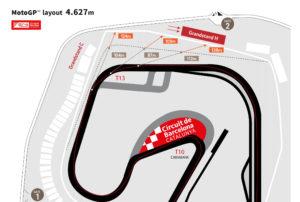 Mapa del Circuito de Barcelona-Catalunya