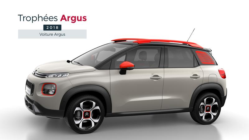 Citroën C3 ganador de los premios Argus