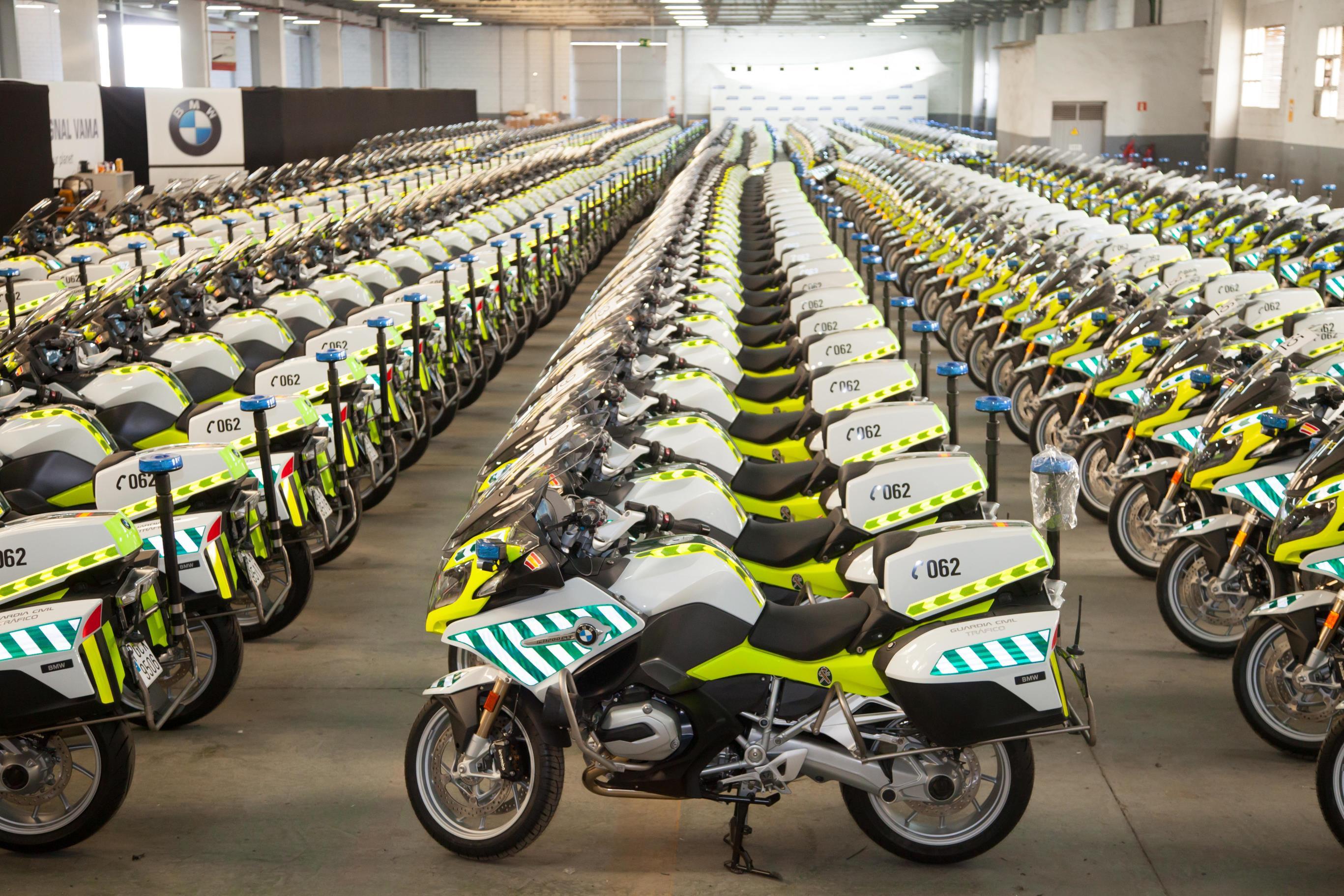 Las nuevas motos de la Guardia Civil