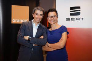 Seat y Orange unen esfuerzos en pro del coche conectado