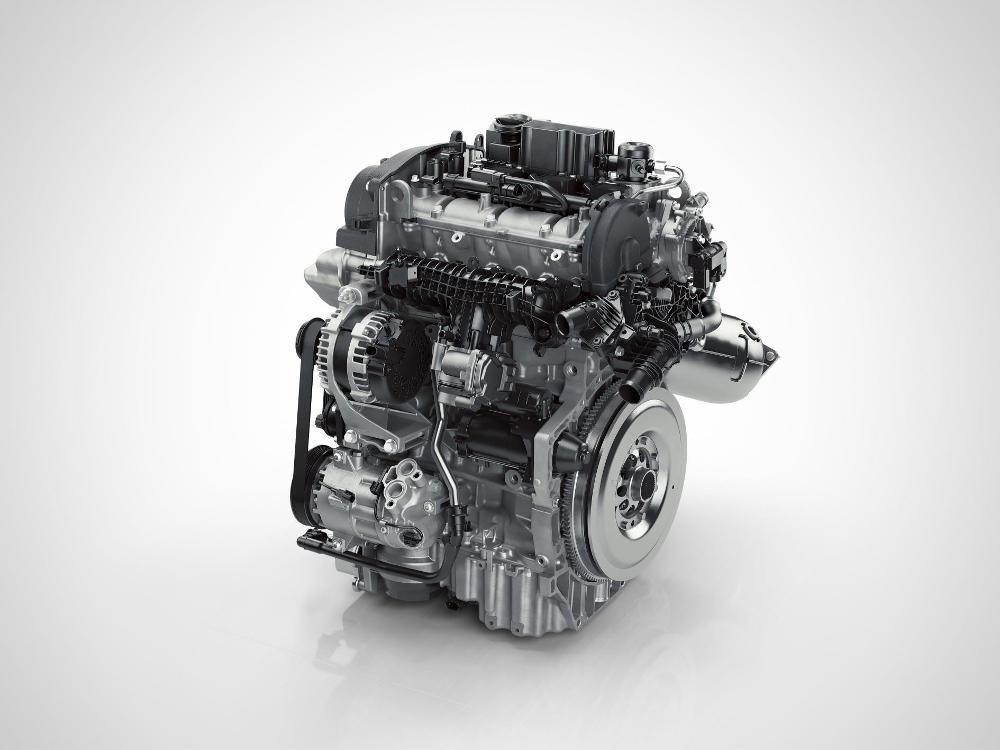 El motor 3 cilindros del XC40