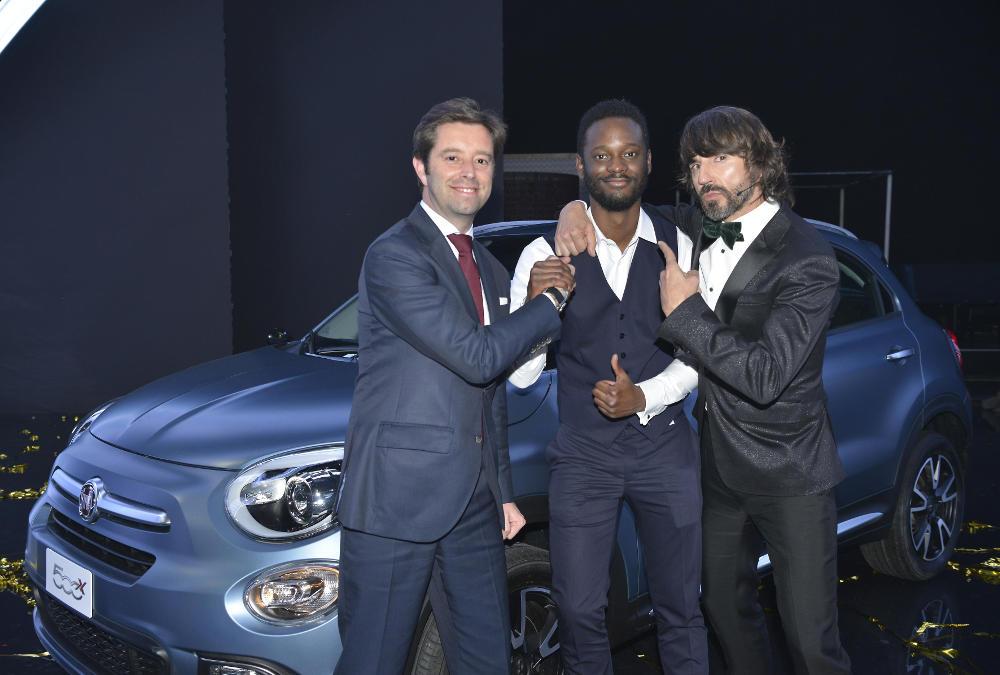 El ganador de Got Talent (Foto: Fiat)