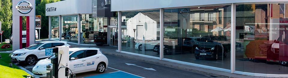 Concesionario Nissan en Olot