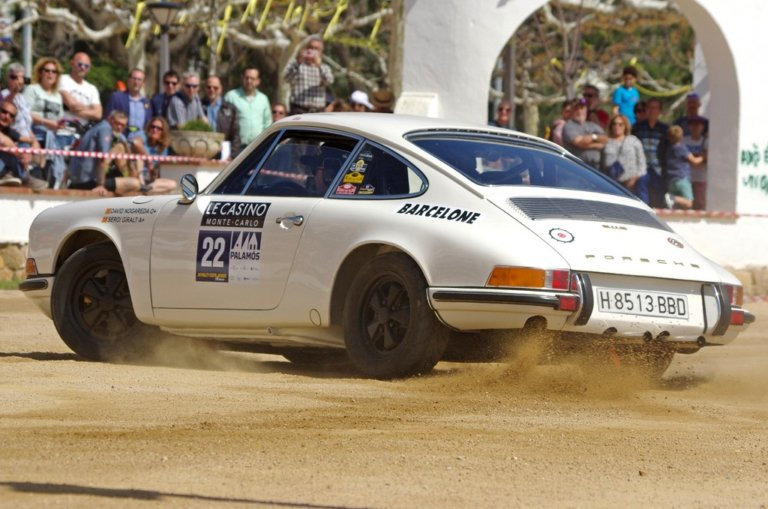 El equipo Nogareda-Giralt ganadores del Costa Brava Rally Clasics (Foto: Rally CLassics)