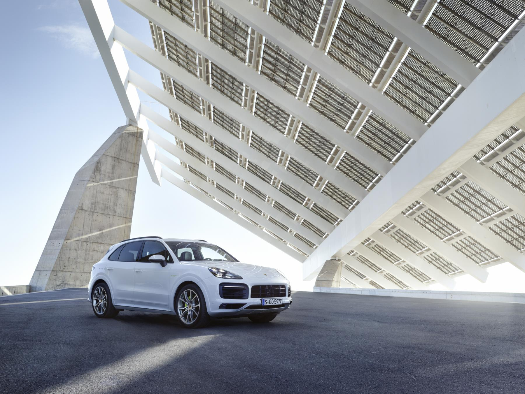 El nuevo Cayene híbrido enchufable (Foto: Porsche)