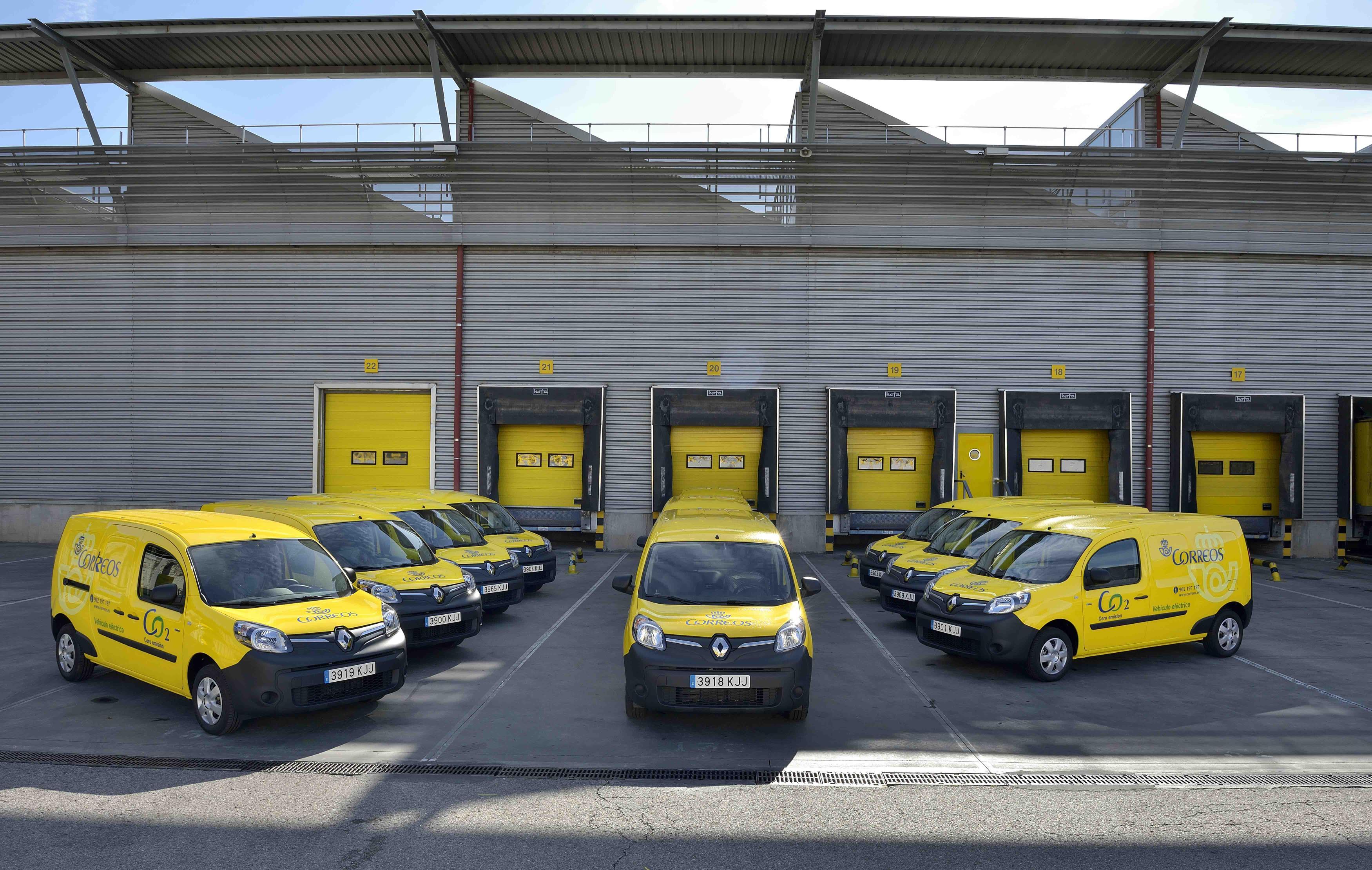 La flota de Correos marca Renault