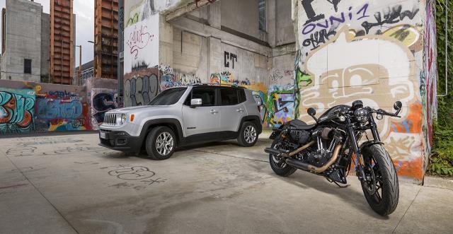 """Sigue la """"exitosa"""" colaboración entre Jeep y Harley (Foto: Jeep)"""