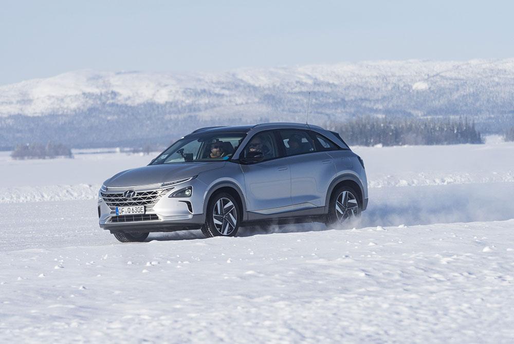Los Hyundai eléctricos se probaron bajo temperaturas árticas (Foto: Hyundai)
