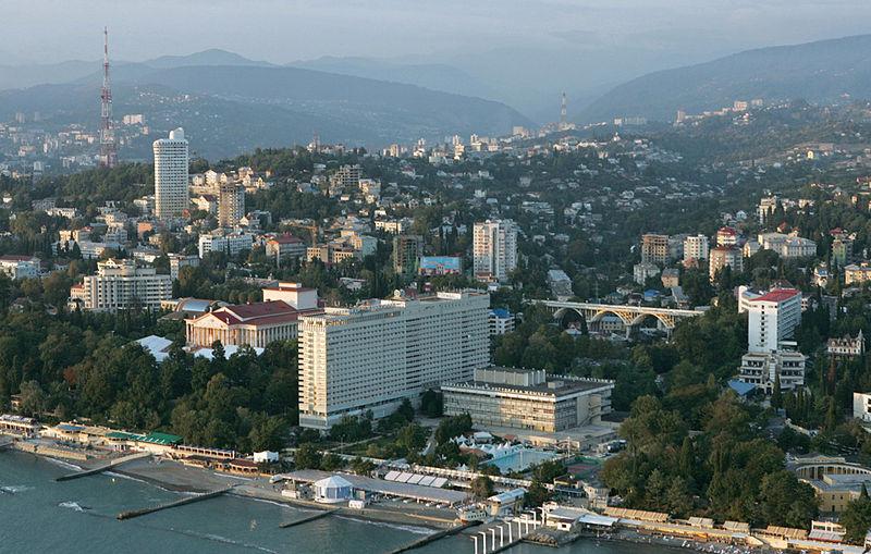La ciudad de socchi donde sucedieron los hechos