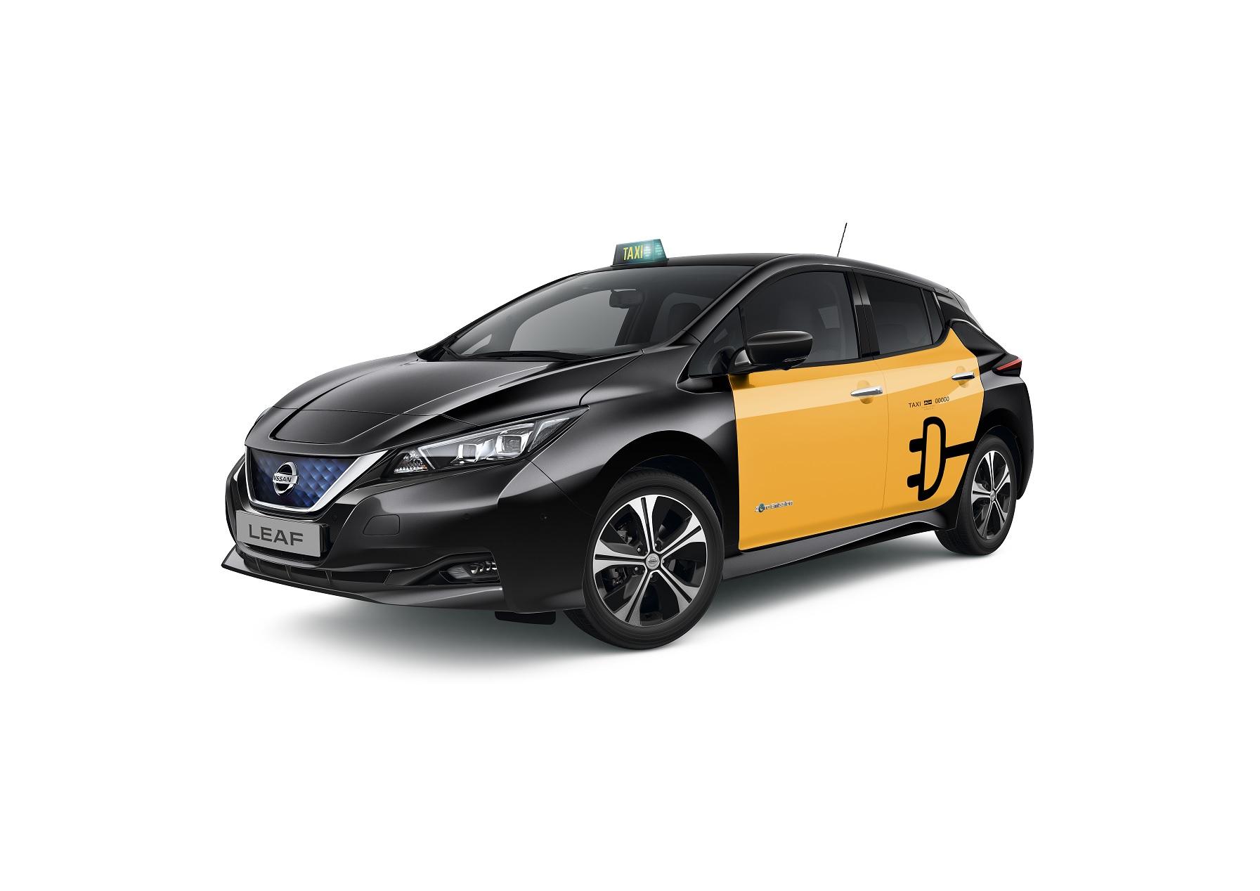 El Taxi de Barcelona (Foto: Nissan)