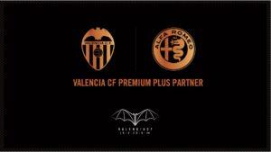 El Valencia y Alfa Romeo alargan su relación