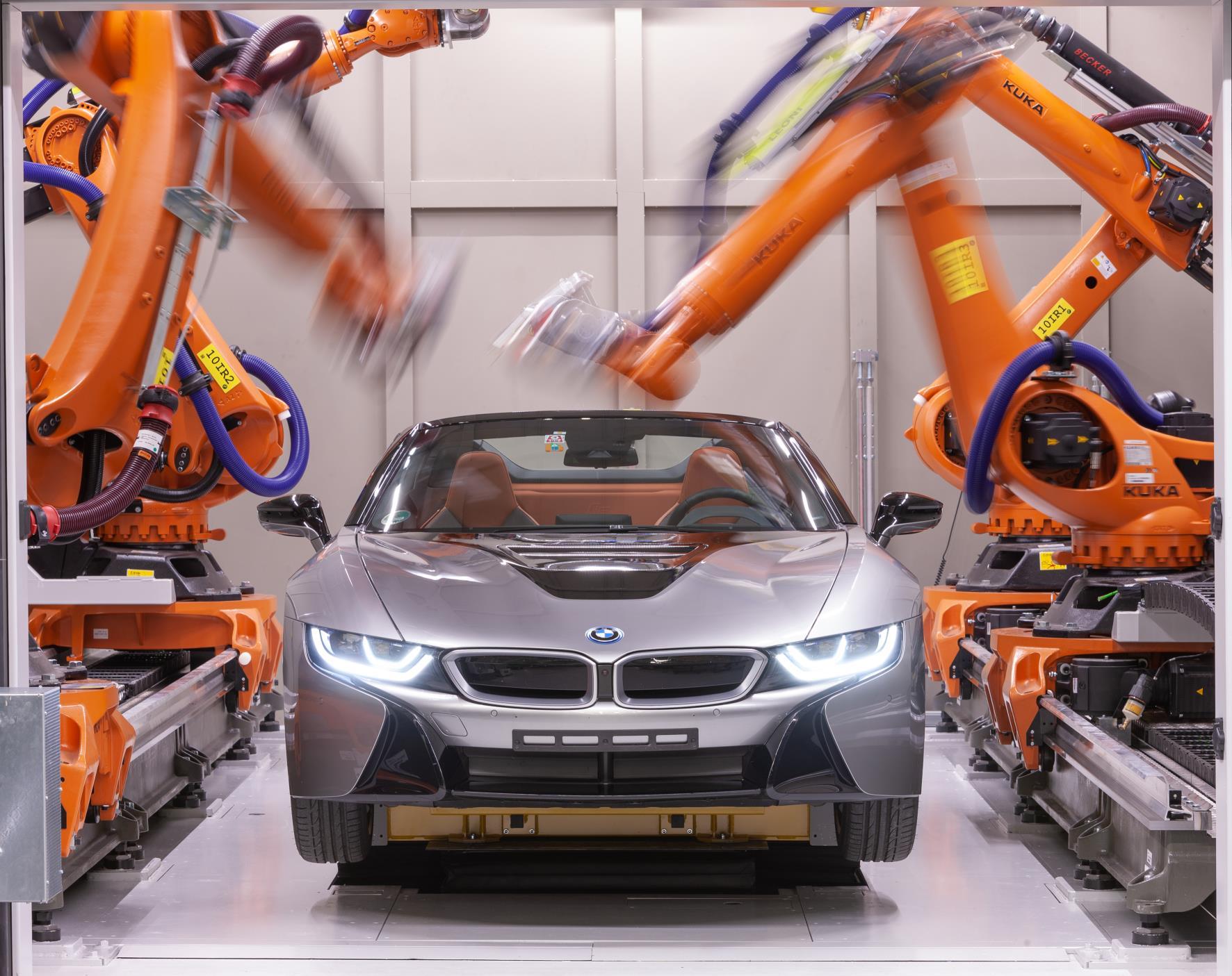 BMW usa rayos X para anlizar sus coches