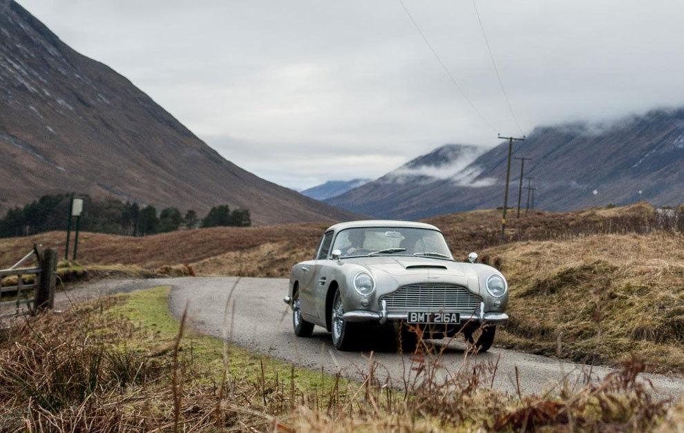 El DB5, el mítico coche de James Bond