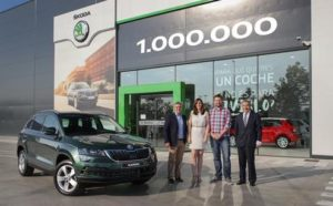 El SUV un millón fue entregado a una pareja española