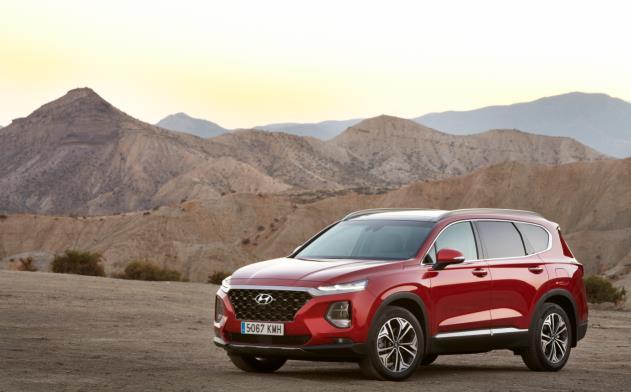 El Hyundai Santa Fe, coche ideal para jugar a golf