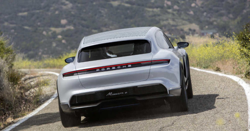 El Mission E Cross de Porsche