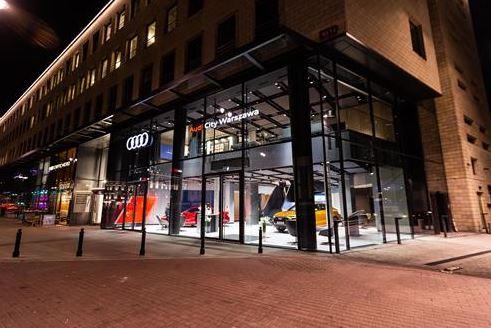 El Audi City de Varsovia