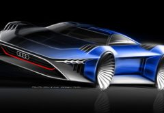 El 'concept car' para una película animada de Audi