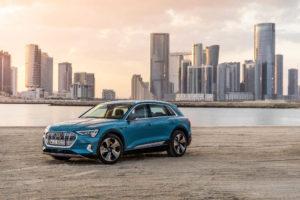 El SUV Audi e-tron