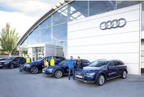 Audi, con los deportes de invierno