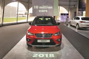 El coche producido 1 millón de Seat