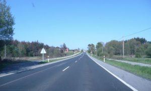 Una de las carreteras convencionales de España
