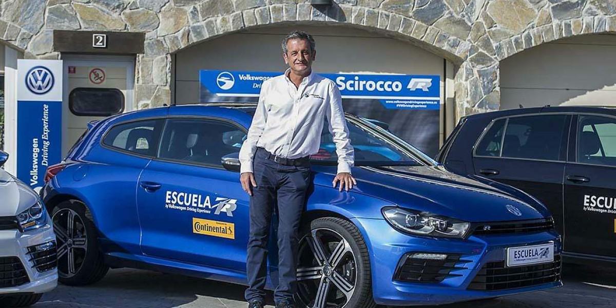 Luis Moya es embajador de Volkswagen