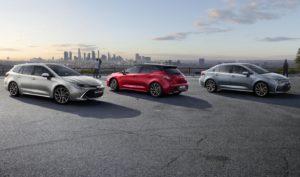 La gama Corolla (Foto: Toyota)