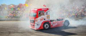 El circuito del Jarama acogerá un rally de camiones