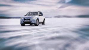 BMW prueba sus vehículos en el ártico (Foto: BMW)