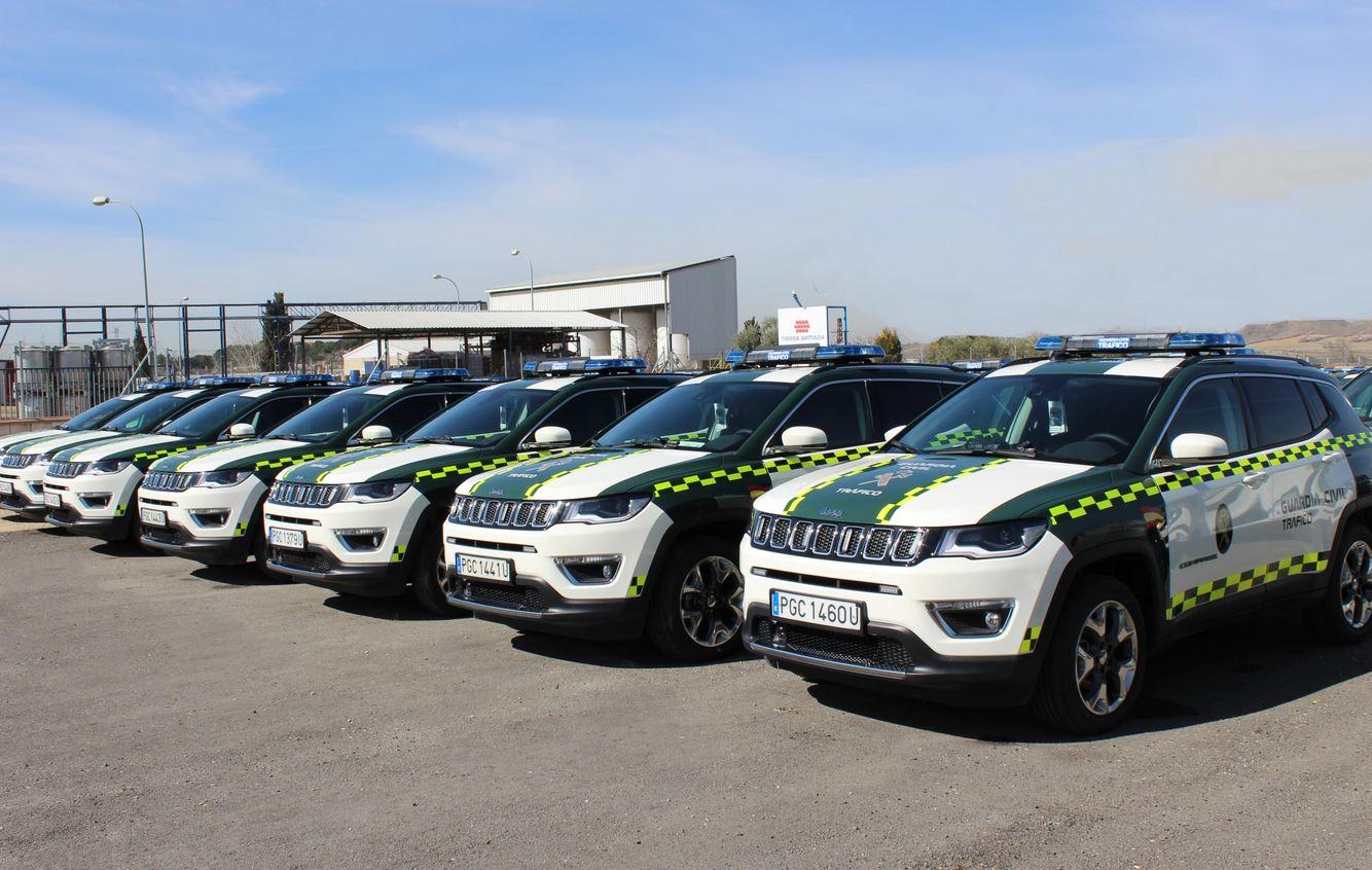 Los nuevos Jeep de la Guardia Civil
