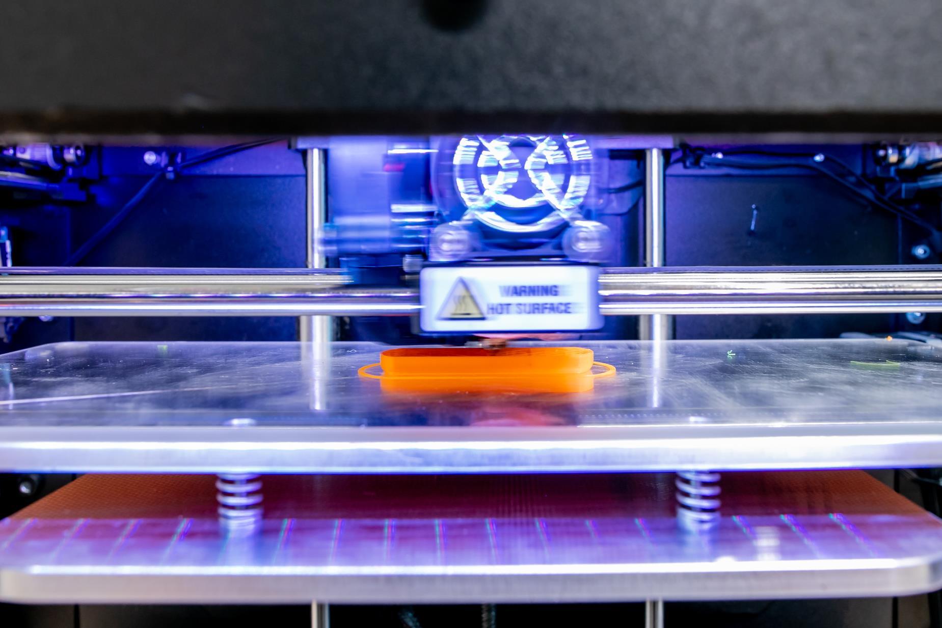 El mecanismo de impresión 3D de Audi