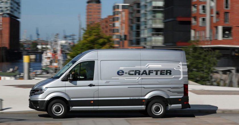 El e-crafter de Volkswagen (Foto: Volkswagen)
