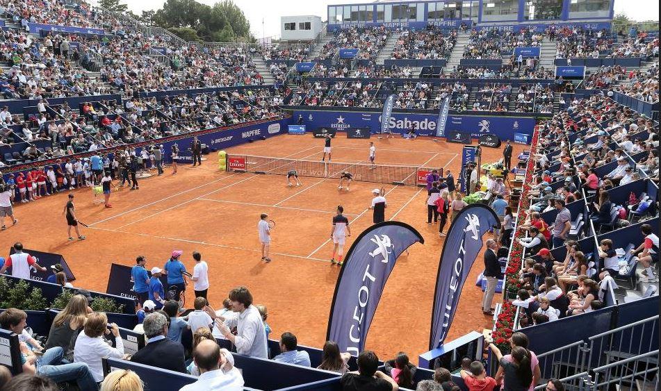 Peugeot, apoya el tenis en Barcelona