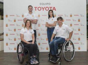 Los embajadores de Toyota